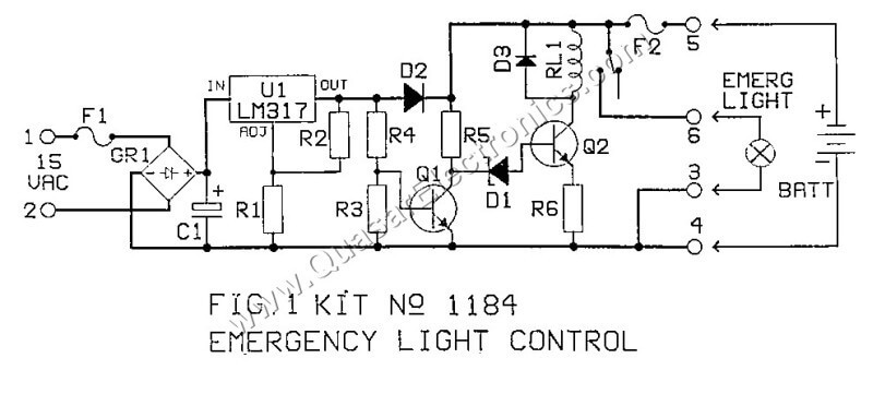 emergency lighting controller