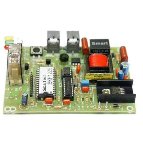 1+7 Channel Telephone Activated Relay Board