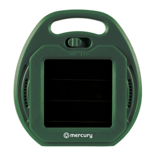 Mercury 350.500UK - Solar Powered Ultrasonic Pest Repeller