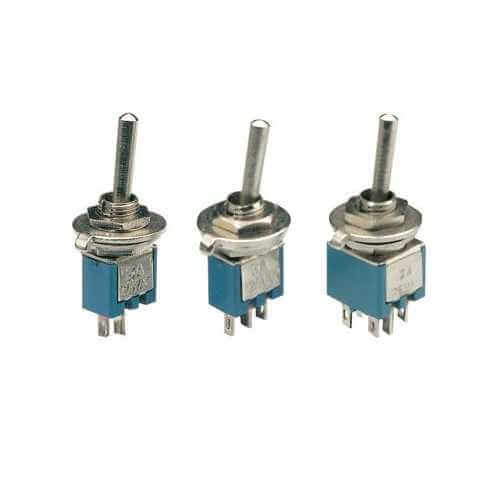 785.461UK, 785.462UK, 785.632UK - Sub-Miniature Toggle Switches, 125Vac 3A