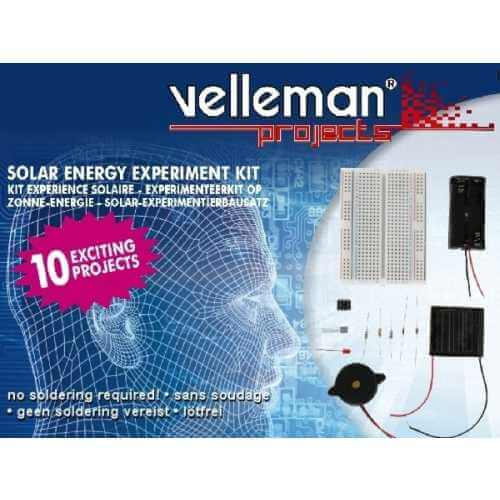 Velleman EDU02 - Solar Energy Experiment Kit