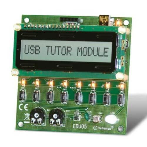 ASSEMBLED USB Tutor Project Module