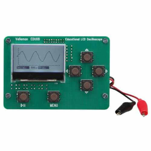Velleman EDU08 - LCD Oscilloscope Educational Kit