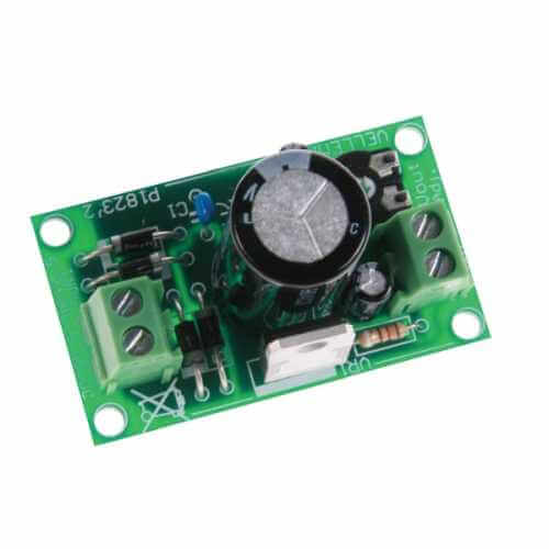 Variable Regulated Power Supply 1.5-35Vdc, 1A Electronic Kit
