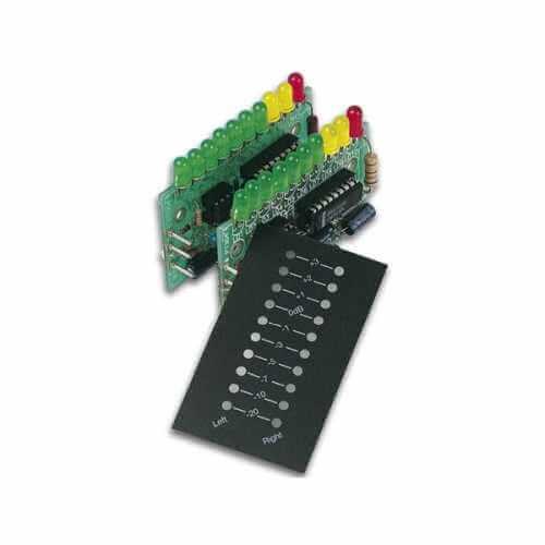 Stereo VU Meter 2 x 10 LEDs Electronic Kit