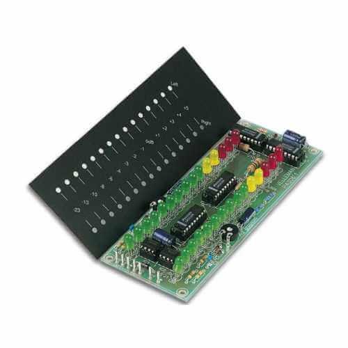 Precision Stereo VU Meter 2 x 15 LEDs Electronic Kit