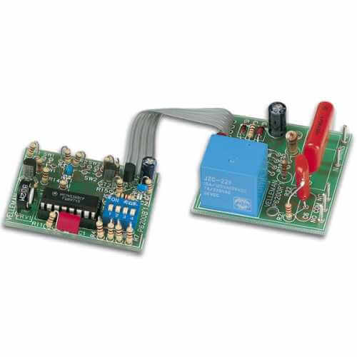 0 to 60 Hours Start/Stop Timer Electronic Kit