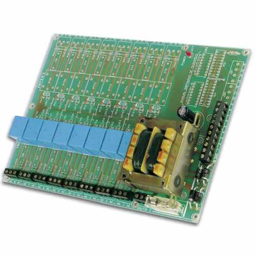 Velleman K6714-8 - Universal Relay Card (8 Relays) Electronic Kit (110/230Vac)