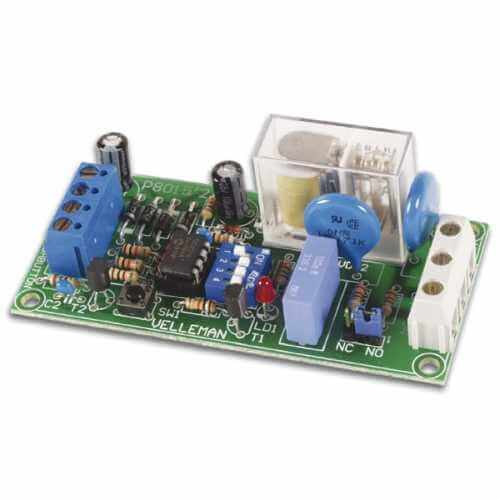 Velleman K8015 - Multifunction Relay Timer Switch Electronic Kit