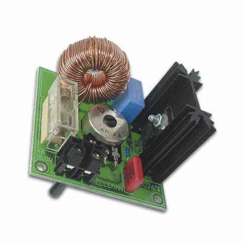 Suppressed 3.5A Dimmer / Motor Controller Electronic Kit (110/230Vac)