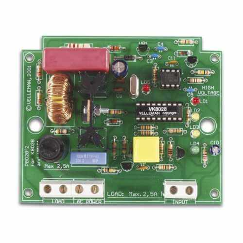 Multifunction Dimmer Electronic Kit (110/230Vac)