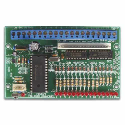 15-Channel IR Receiver Electronic Kit