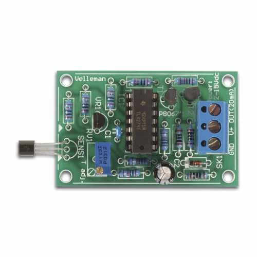 Universal Temperature Sensor Electronic Kit, -20 to +70°C