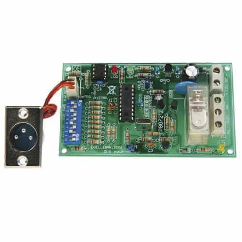 DMX Controlled Relay Electronic Kit