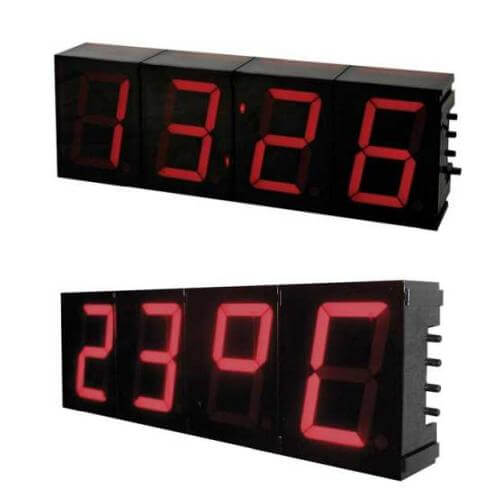 Velleman K8089 - Large 57mm 4-Digit 7-Segment Digital Clock Electronic Kit