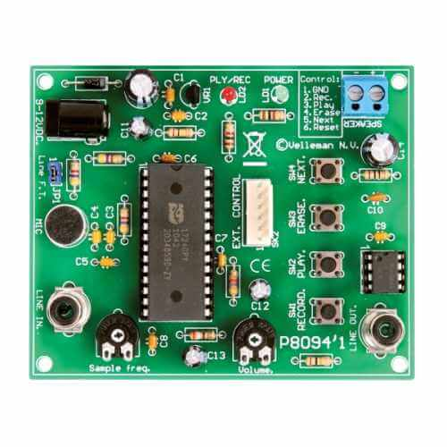 Extended Sound Recorder and Playback Electronic Kit