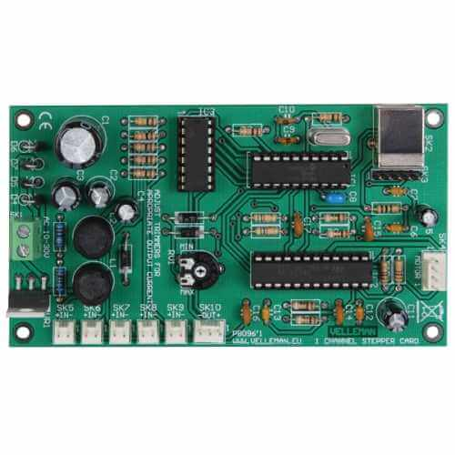 1 Channel USB Bipolar Stepper Motor Driver Electronic Kit