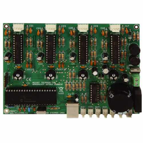 Velleman K8097 - 4 Channel USB Bipolar Stepper Motor Driver Electronic Kit