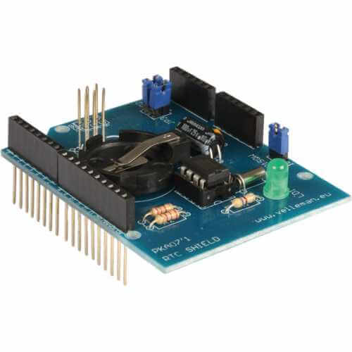 Velleman KA07 - RTC Shield Kit for Arduino UNO