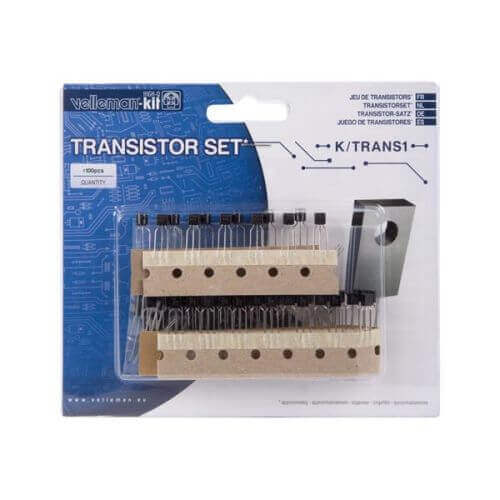 100 Pcs Transistor Component Pack