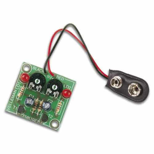 Velleman MK102 - Flashing LEDs Electronic Kit