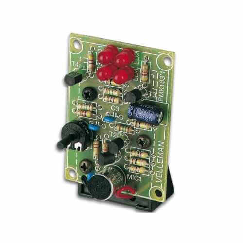 Low Voltage Sound to Light Electronic Kit