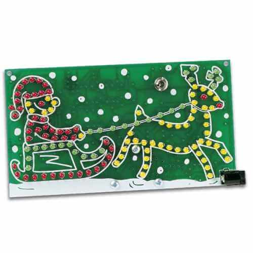 Riding Santa Electronic Kit