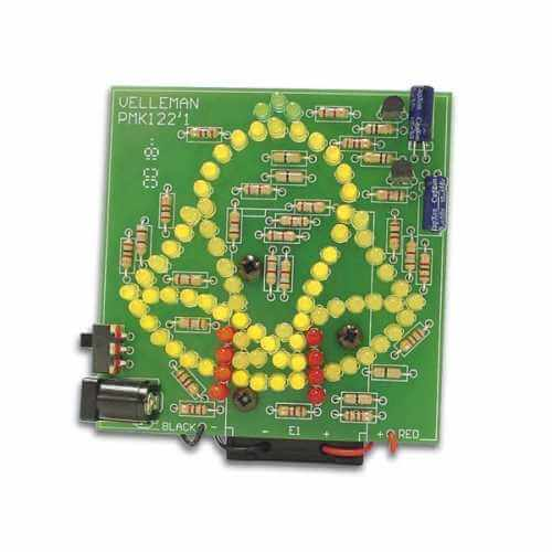 Velleman MK122 - Animated Bell with 83 LEDs Electronic Kit