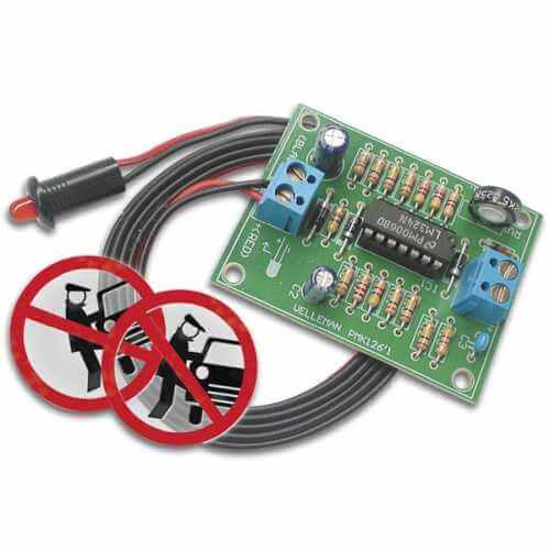 Car Alarm Simulator Electronic Kit