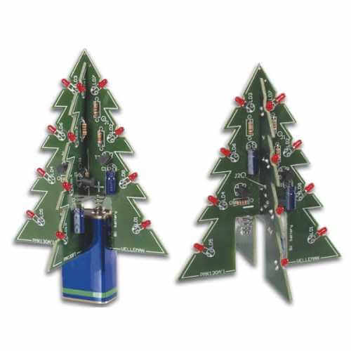 Velleman MK130 - 3D Christmas Tree Electronic Kit