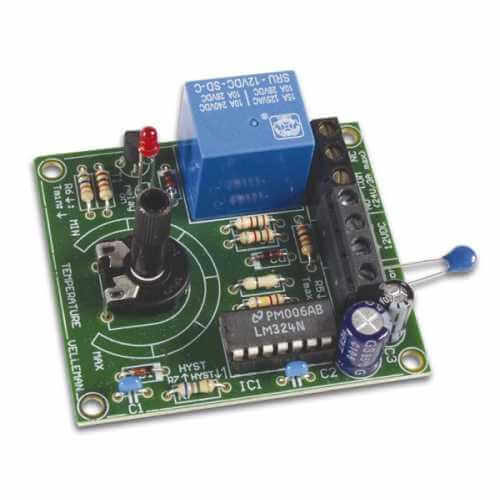 Velleman MK138 - Thermostat Electronic Kit, +5 to 30°C