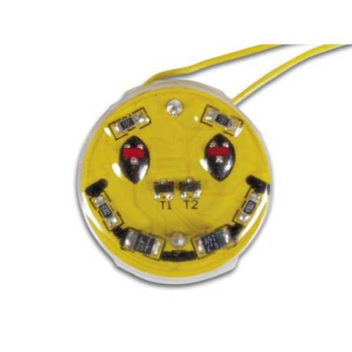 Velleman MK141 - SMD Happy Face Badge Electronic Kit