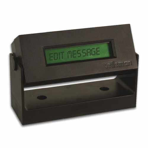 LCD Mini Message Board with Backlight and Box Electronic Kit