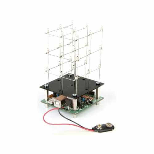 Velleman MK193 - 3D LED Cube (3x3x3) Electronic Kit
