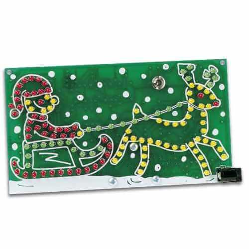 ASSEMBLED Riding Santa Module