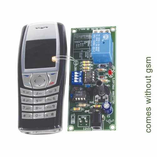 ASSEMBLED Remote Control Via GSM Mobile Phone Board