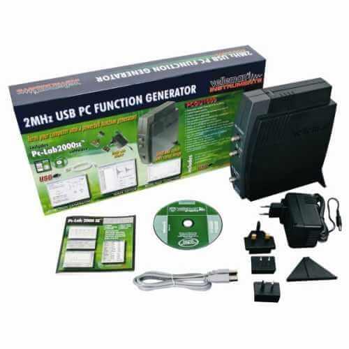 2MHz USB PC Function Generator