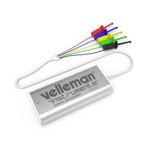 Velleman PCRU01 - Mini 4 Channel USB Data Logger