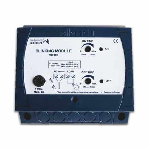 Blinking Flasher Module (110/230Vac)