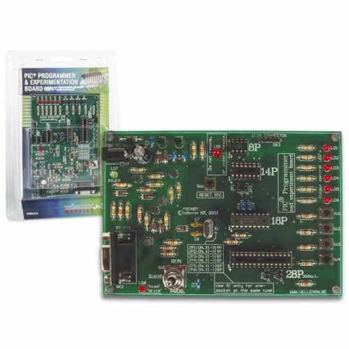 Velleman VM111 - ASSEMBLED PIC Programmer and Experimenter Board