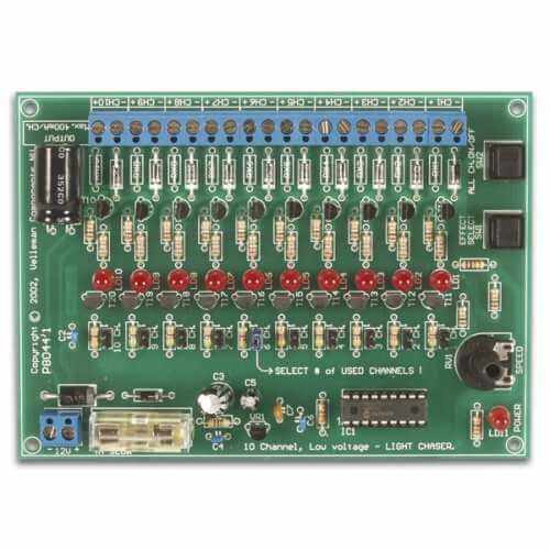 Velleman VM120 - 10-Channel 12Vdc Light Effect Generator Module