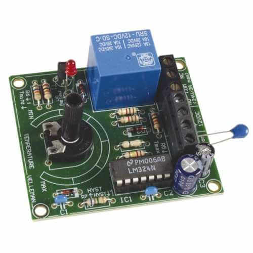 Velleman VM137 - 12Vdc Thermostat Module, +5 to +30°C