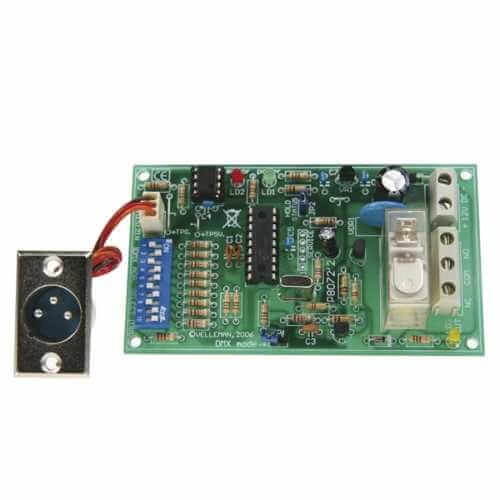 DMX Controlled Relay Module