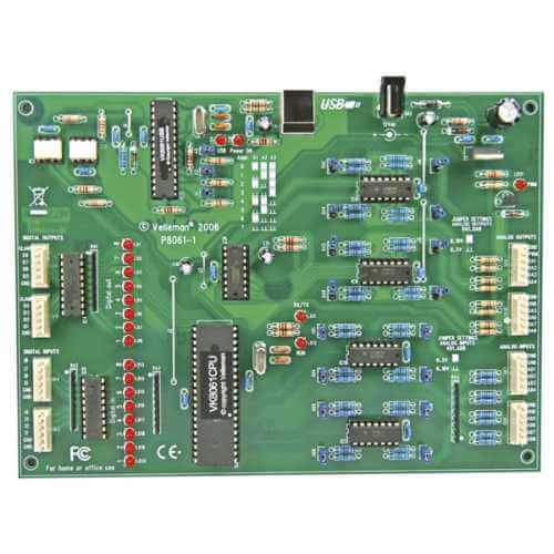 Velleman VM140 - Extended USB Interface Board Module