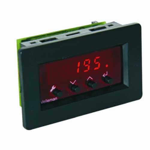 Velleman VM148 - Digital Panel Thermostat Module, -18 to + 60°C