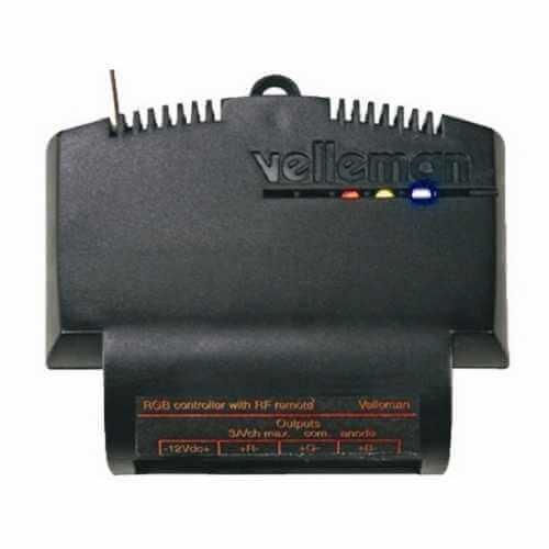 Velleman VM161 - 12-24V RGB LED Dimmer and Colour Selector (for use with VM118R RF Remote)