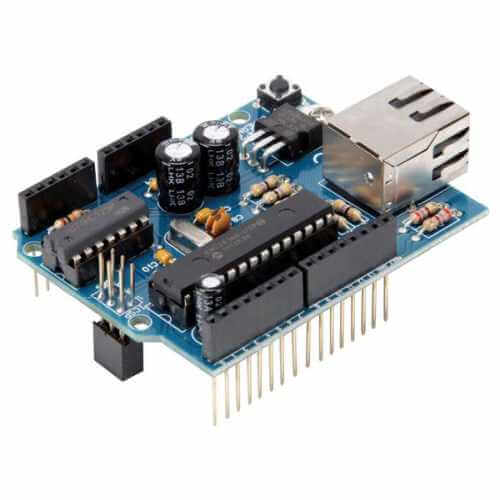 Assembled Ethernet Shield for Arduino