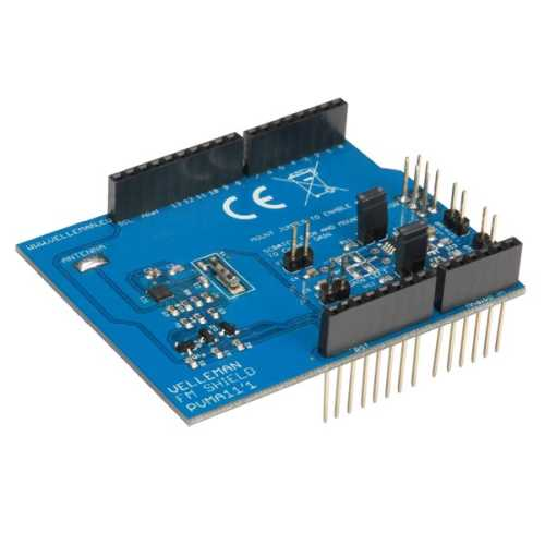 Velleman VMA11 - Assembled FM Radio Shield Module for Arduino Board