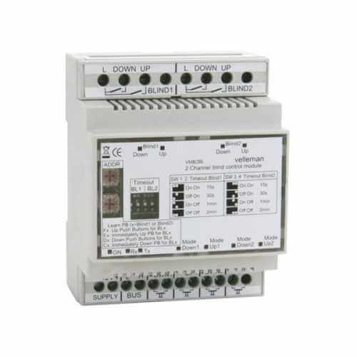 2 Channel Electric Blind / Shutter Motor Control Module