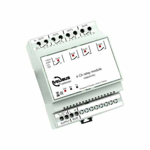 4-Channel Programmable Relay Module - 40 Modes